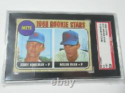 1968 Topps #177 Nolan Ryan Mets RC Signed Autographed Rookie Card HOF PSA AUTO