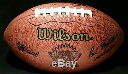 1995 JERRY RICE Signed Super Bowl XXIX FOOTBALL Game BALL HOF Auto NFL 49ers