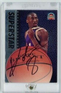 1997 The Score Board Kobe Bryant HOF Signed AUTO Los Angeles Lakers