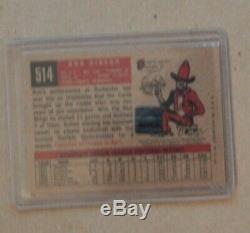 2001 Topps Team Legends Bob Gibson autograph auto signed Cardinals Hall of Fame