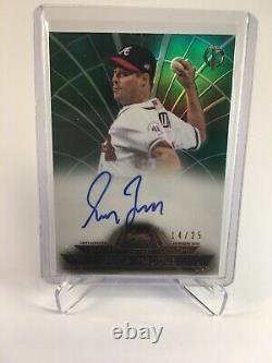 2014 Topps Tribute To The Pastime Greg Maddux Auto Autograph #14/25 Braves HOF