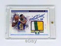 2018-19 Impeccable Elegance Retired Jersey Auto Holo Silver Karl Malone /10 HOF