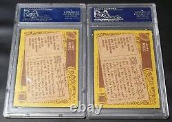 (2) Card LOT PSA DNA Rc HOF Jerry Rice Auto 1986 Topps Rookie Signed Autograph