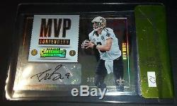 (#3/3) 520 Career TDs BGS 9.5 10 Drew Brees Auto Contenders Signed Autograph HOF