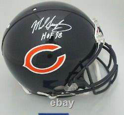 Bears MIKE SINGLETARY Signed Full Size Authentic Helmet AUTO with HOF Beckett