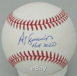 Brewers TED SIMMONS Signed Official Baseball AUTO with HOF 2020 Cardinals JSA