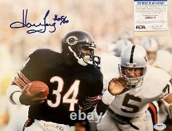 HOWIE LONG AUTO SIGNED 11x14 PHOTO PSA DNA RAIDERS NATION HOF INSCR SWEETNESS