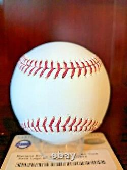 Mariano Rivera Signed Autographed OML Baseball Steiner Cert LE HOF Yankees Auto
