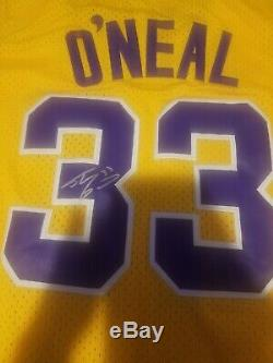 Shaquille O'Neal #33 Signed LSU Tigers Jersey AUTO COA HOF