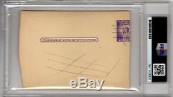 Wahoo Sam Crawford PSA Autograph Auto Signed early 1960's Died 1968 HOF