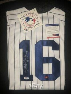Whitey Ford signed Jersey autographed Authentic Majestic auto HOF 74 PSA/DNA