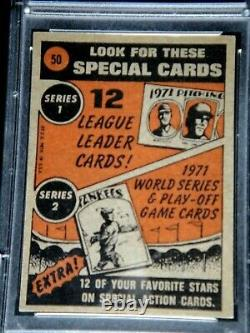 Willie Mays Psa/dna Original 1972 Topps Signed Card #50 Autograph Auto Hof