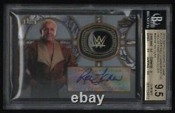 2018 Topps Wwe Légendes Ric Flair Autographe Auto Hall Of Fame Ring Bgs 9.5 05/50