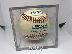 Ted Williams Autosigné Autograph Rawlings Baseball Mlb Hof Amazing Condition